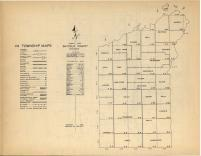 Index Map, Bayfield County 1954